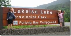 Lakelse Lake Provincial Park, near Terrace BC