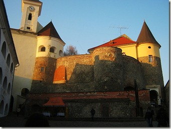 Palanok Castle in Mukachevo