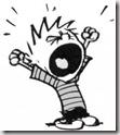 Calvin's temper