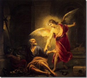 Liberation of St. Peter by Bartolomé Esteban Murillo, 1667