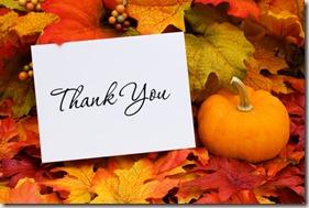 Autumn thank you graphic found via Google
