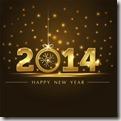 Happy New Year 2014 image found via Google