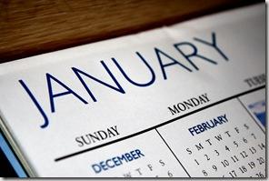 January calendar graphic found via Google