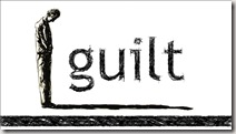 Guilt graphic found via Google