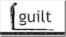 Guilt graphic found via Google