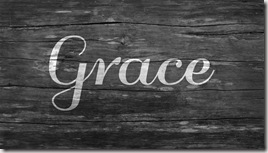 Grace graphic found via Google