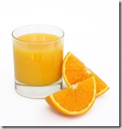 Orange juice graphic found via Google