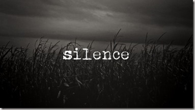 Silence graphic found via Google