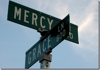 Mercy and grace graphic found via Google