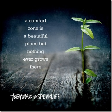 Comfort Zone quote found with Google