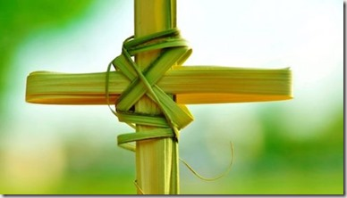 Palm Sunday cross graphic found via Google