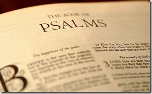 Psalms graphic found with Google
