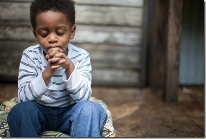 Praying child graphic found via Google