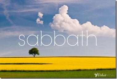 Sabbath graphic found with Google
