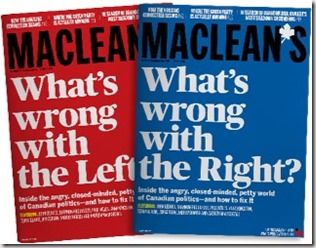 Maclean's February 2019 issue with its two covers
