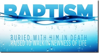 Baptism graphic found with Google