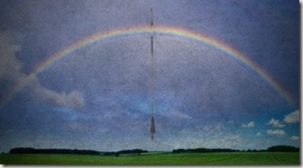 Rainbow and arrow graphic from FeedingOnChrist.com
